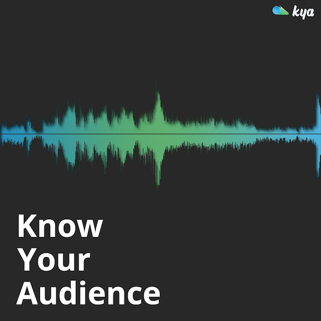 Know Your Audience podcast art.