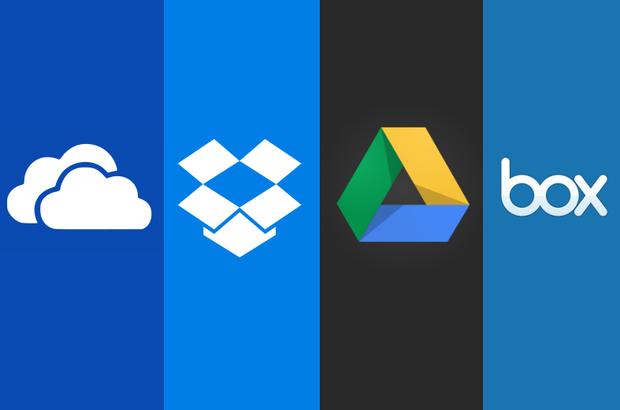Cloud storage options.
